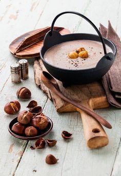 #Rezept: Winterliche #Maroni-#Suppe
