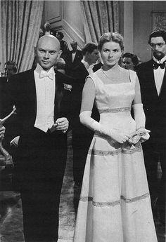 Anastasia-Yul Brynner-Ingrid Bergman---one of my favorite movies & awesome actors