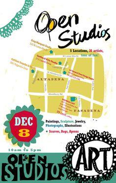 Open Studios Art Tours