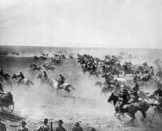 The Oklahoma Land Rush, April 22, 1889 by John Steuart Curry
