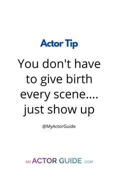 Something to remember when prepping an audition scene Acting Quotes, Acting Tips, Acting Career, New Actors, Career Inspiration, Something To Remember, Tips Online, Singing Tips, Filmmaking