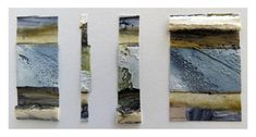 CAROLYN SAXBY: small textured pieces