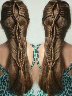 Hair : Intricate Braided Hairstyle Inspiration