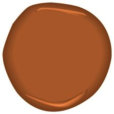 color: tandoori CSP-1105, Benjamin Moore paint.  A roasted Indian delight, full of paprika, coriander and cumin, fresh from an ancient tandoor oven.
