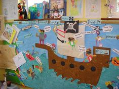 Pirates are a great theme for classroom displays and this ship is a particularly lively one. Lots of super vocabulary words and phrases, dastardly pirates and a rather good sea really make this an …