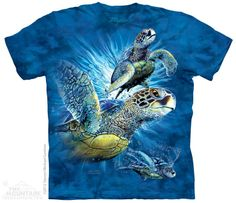 Style Design of Sea Turtles Fashion Mens T-Shirt and Hats Youth /& Adult T-Shirts