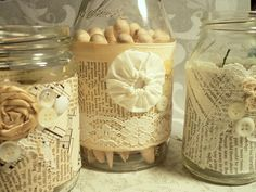 Make The Best of Things: Pretty Craft Room Jars