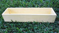 Wood Planter Box Distressed Shabby Cottage  by WoodgrainDesigns, $25.00
