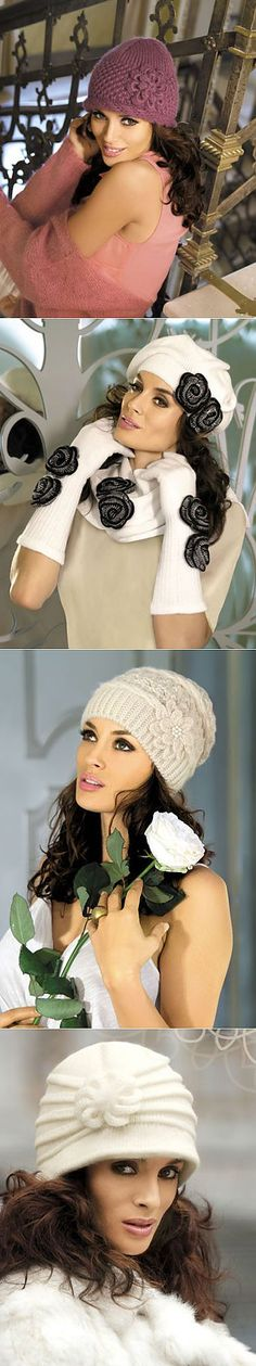 Шапочки, шляпки .....идеи....