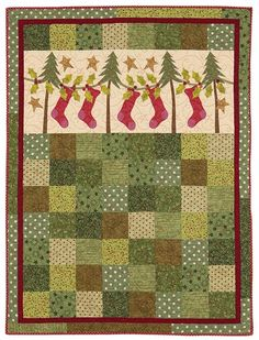 Cute Christmas Quilt....