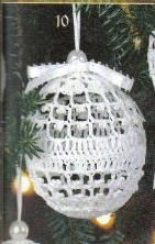 Free Crochet Patterns...Christmas ball pattern!