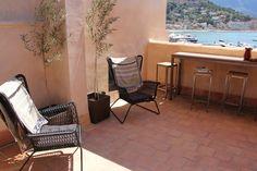 Roof terrace of Casita Sal de mar, Port de Soller, Mallorca. www.sollersecrets.com