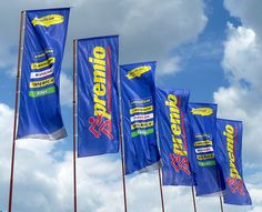 Flags of PREMIO for the GOODYEAR EFFICIENTGRIP PERFORMANCE - http://screen-print.biz/flags-en/flags-for-the-premio/