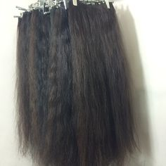 Our Collection of Very Long Natural Dark Uncolored Sewn Strong Human Hair #humanhair #longhair #hair #hairextensions #extensions #hairweft #wefts #gorgeous #hairstyle #amazinghair #tophair #blonde #blondehiar #awesome #tapehairextensions #besthair #easternhair #russianhair #europeanhair #curlyhair #curls #virginhair #naturalhair #clipins #weaves #wig #torontohair #torontohairextensions #hairstylists #color  #haircolor #ombre #ombrehair #locks #realdreads #afrohairextensions