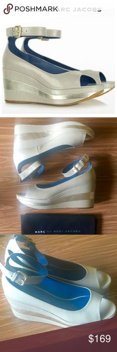 Marc by Marc Jacobs Platform Worn gently still look fab! No box, but they come with the dust cover. Size 40. They are amazing and comfortable! Marc by Marc Jacobs Shoes Platforms