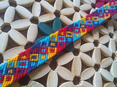 Photo by Added by mAsimOsi Friendship bracelet pattern 1517