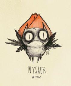 Ivysaur: Tim Burton Style