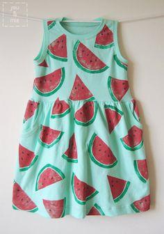 Watermelon Dress // you & mie