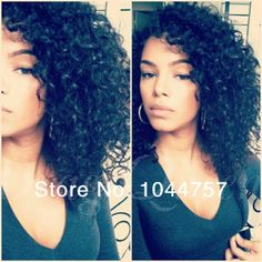 New hairstyle ! days fast shipping unprocessed brazilian cheap human hair kinky curly u part wig Love Hair, Big Hair, Gorgeous Hair, Cheap Human Hair, Human Hair Wigs, Curly Hair Styles, Natural Hair Styles, U Part Wig, Hair Laid