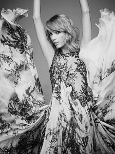 Taylor Swift photographed by Miller Mobley for Billboard