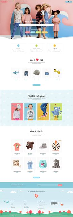 BabyStreet is a premium WordPress / WooCommerce niche theme suitable for Baby Store, Kids Shop, Toy Shop, Kindergarden and any kids related website / shop / blo Website Design Inspiration, Best Website Design, Website Design Layout, Web Layout, Blog Layout, Website Designs, Layout Design, Web Design Websites, Web Design Quotes