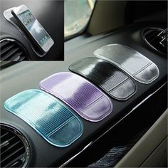 Silicone Gel Anti-Slip Mat Car Dashboard Non-slip Mat Magic Sticky Pad for Mobile Phone iPhone PDA MP3 MP4 GPS