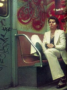 Travolta in Saturday Night Fever, 1977