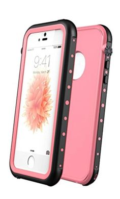 Aliglow Waterproof Case for iPhone SE 5S 5 - Brought to you by Avarsha.com