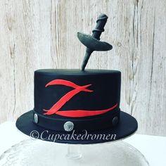 Zorro - Cake by Cupcakedromen (Wanda)