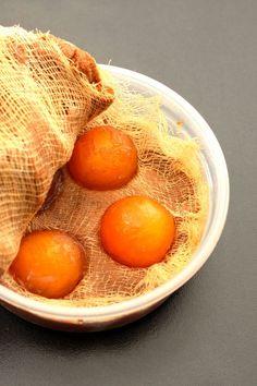 miso cured hen eggs 4/11