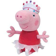 Peppa Pig Plush Toy Ballet Peppa 33cm 13. Peppa PigBeanie BabiesTy ... 1dff17c14651