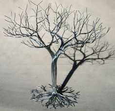 Hey, I found this really awesome Etsy listing at https://www.etsy.com/listing/176160849/wedding-cake-topper-wire-tree-sculpture