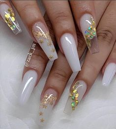 30 Alluring Acrylic Valentine's Nails Design To Show Your Love 2020 - Page 5 of 5 - Latest Fashion Trends For Woman White Acrylic Nails, Best Acrylic Nails, Summer Acrylic Nails, White Acrylics, Nail Swag, Stylish Nails, Trendy Nails, Cute Acrylic Nail Designs, Fire Nails
