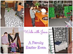 Fireflies and Jellybeans: Family Easter Event {Walk With Jesus}