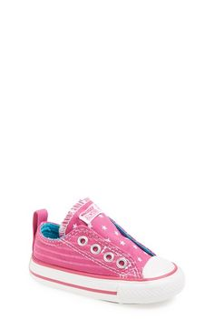 Converse All Star® Slip-On Sneaker (Baby, Walker & Toddler) available at #Nordstrom
