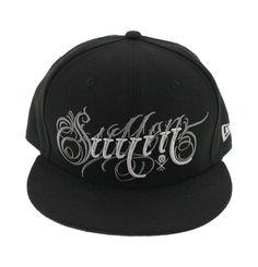 d4ffc4f435d Sullen Art Collective Angel Eyesl Hat Mens NE New Era Fitted Baseball Cap  Black  Sullen