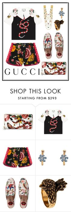 """Presenting the Gucci Garden Exclusive Collection: Contest Entry"" by bellesandbeaus ❤ liked on Polyvore featuring Gucci and gucci"