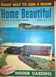 Aussie Home Beautiful magazine 1961