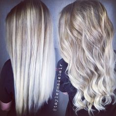 Ice blonde balayage hair color. Using Redken and Kenra. By Tayler Namanny
