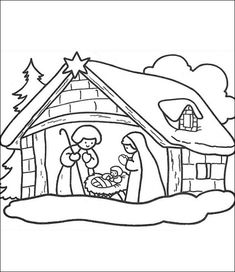 Weihnachten zum ausmalen 18