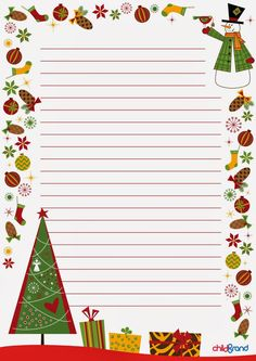 """Идея № 35 """"Письмо Деду Морозу"""" (шаблоны) - Леди IQ - Babyblog.ru Christmas Labels, Christmas Paper, Christmas Border, Christmas Frames, Christmas Templates, Diy Christmas Cards, Christmas Clipart, Christmas Printables, Winter Christmas"""