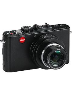 """Leica D-LUX5 10.1 MP Compact Digital Camera with Super-Fast f/2.0 Lens, 3.8x Zoom Lens, 3"""" LCD Display, O.I.S. Image Stabilization (Black) ❤ Leica"""