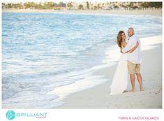 Caribbean wedding couple on beach in the Turks and Caicos Islands Turks And Caicos Wedding, Beaches Turks And Caicos, Grace Bay Beach, Famous Beaches, Couple Beach, Commercial Photography, Grooms, Wedding Couples