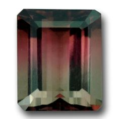 A wonderful Bi color Tourmaline displaying watermelon colors. Flawless and beautifully cut. A very good example of fine bi-color Tourmaline and a good size at 6.54 carats. Superb!