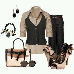 Cute business casual!