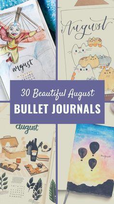 Bullet Journal August, Creating A Bullet Journal, Bullet Journal Hacks, Bullet Journal Notebook, Bullet Journal Aesthetic, Bullet Journal Spread, Bullet Journal Ideas Pages, Bullet Journal Inspiration, Book Journal