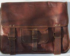 Heathbold Lancastrian. Full grain leather messenger by Harrovians