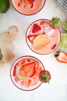 Strawberry Ginger Limeade @lil_epicurean