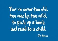 You're never too old!!