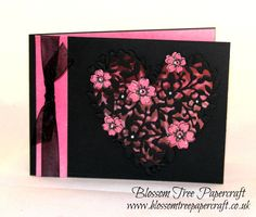 Stampin' Up! | Bloomin Heart Be Mine Valentine's Card